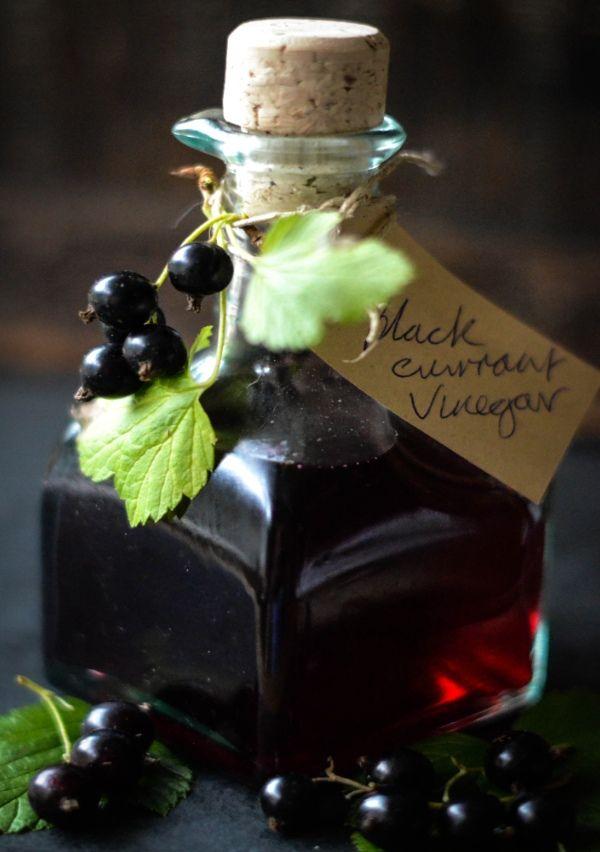 Blackcurrant Vinegar Rich, dark and seriously tasty on robust salads and roasted veggies. www.larderlove.com