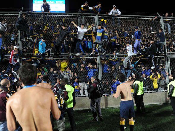 La hinchada de Boca enloquecida por una nueva Copa