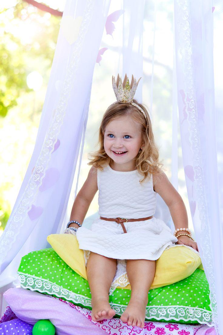 """детский фотопроект """"принцесса на горошине"""", идея для фотосессии"""