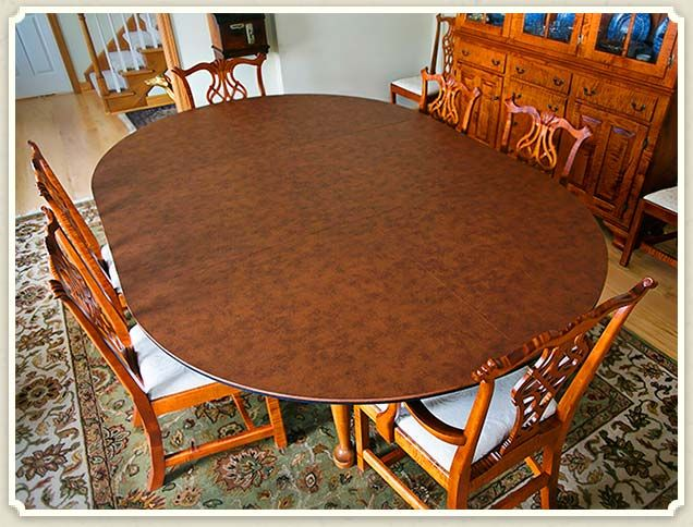 Custom Table Pads For Dining Room Tables 2649 Best Dining Room Images On Pinterest  Dining Room Sets