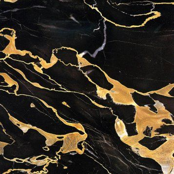 bath down - black and gold marble