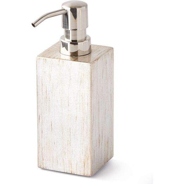 Pigeon And Poodle Tanlay Soap Pump ($120) ❤ liked on Polyvore featuring home, bed & bath, bath, bath accessories, grey, gray bathroom accessories, grey soap dispenser, gray bath accessories, grey bathroom accessories and gray soap dispenser