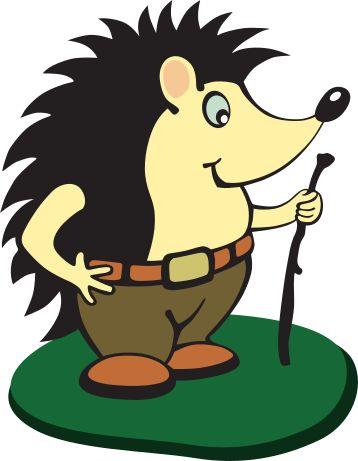 Symbol ježka pro web Vojesnké lesy a statky