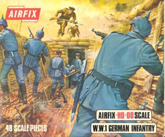 Airfix WW1 German Infantry