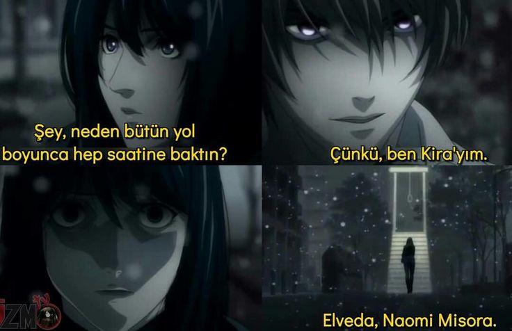 Death Note  unutulmaz sahnesi