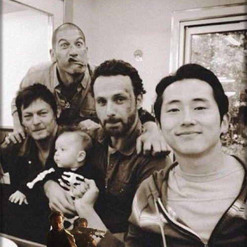 Norman Reedus, Jon Bernthal, Andrew Lincoln, & Steven Yeun