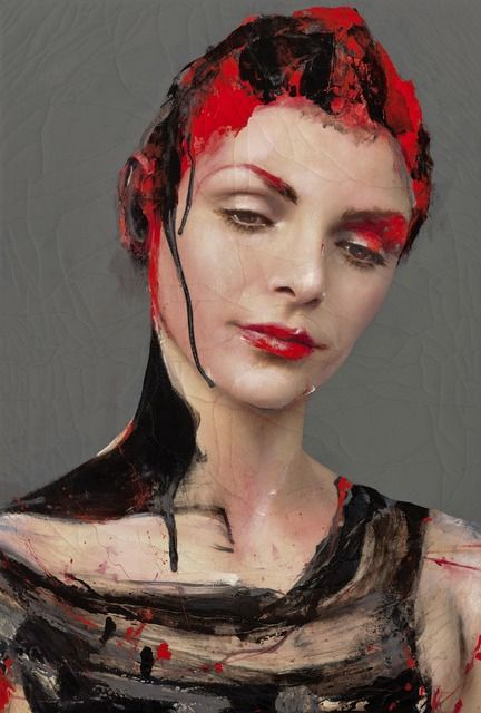 2015 IMPULSE-9, Lita Cabellut (b1961, born a gipsy girl in the streets of El Raval in Barcelona, Cabellut was adopted at the age of 13)...
