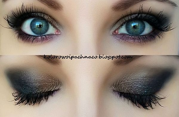 Beautiful 'Hipster Smoky' Idea Gallery look by Alieneczka using Makeup Geek eyeshadows Corrupt, Sensuous, Taupe Notch, Vanilla Bean, and Hipster.