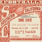 Fancy drink coasters, fancy football tickets, Ohio State coasters. Football Christmas Gifts! http://www.footballchristmasgifts.com/ Football Christmas Gifts for football fans! #47straight #gifts #Christmas