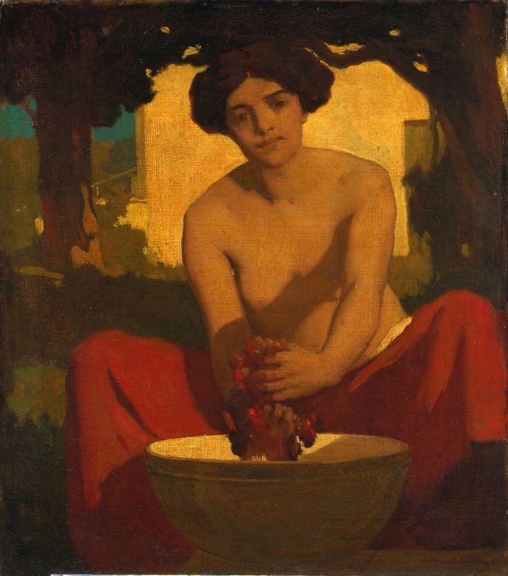 arthur frank mathews: the grape