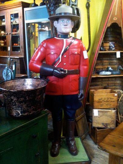 Canada...our Mounties, my grandfather was part of the RCMP back in the early 1900s