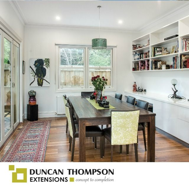 Now Thats A Dining Room Wed Love To Eat In This Little Alcove Single Storey