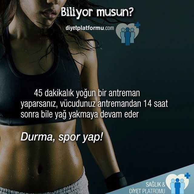 Yarın mutlaka spor yap! :) #sağlık #diyet #spor