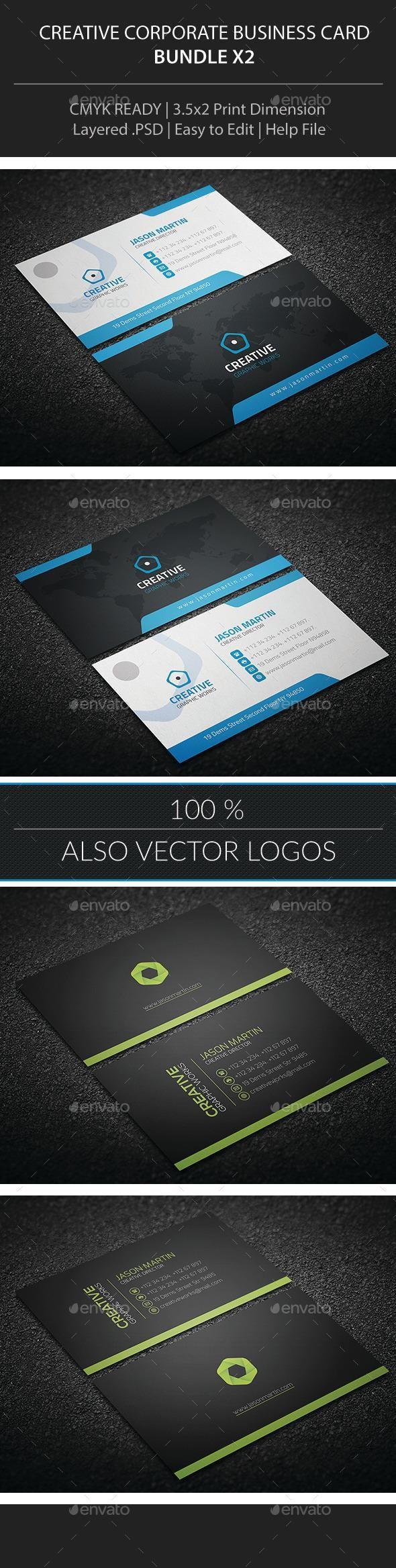 363 best Business Card Design images on Pinterest   Business card ...