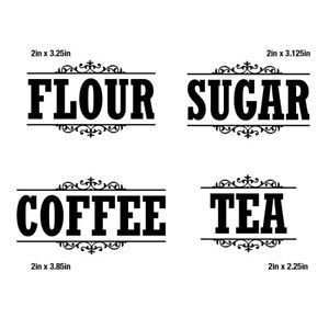 Download Image result for free sugar label SVG   Canister labels ...