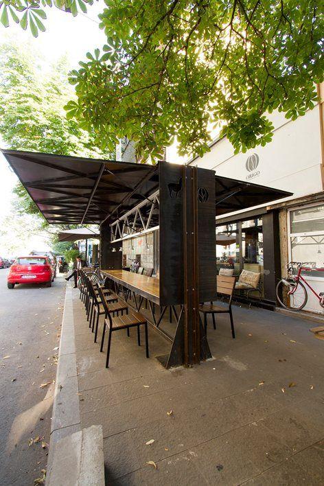 Lama Arhitectura /// Origobox Café @ Bucharest, Roumanie