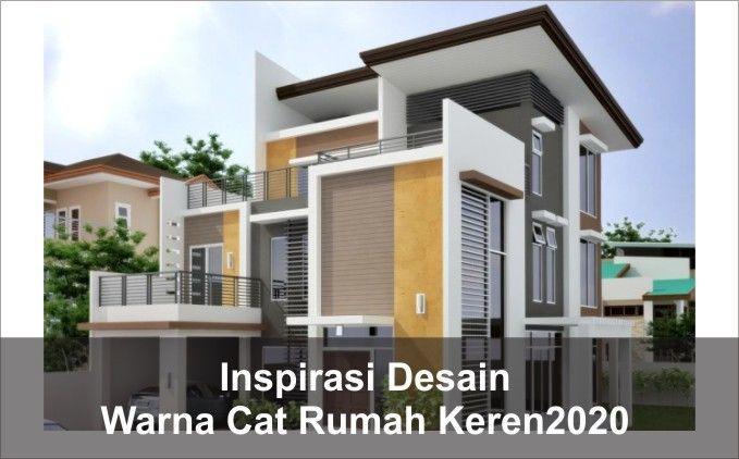 Inspirasi Pilihan Warna Cat Rumah Keren 2020 Home Fashion Rumah Warna Cat