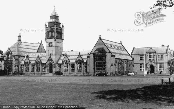 Crosby, Merchant Taylors School c1960