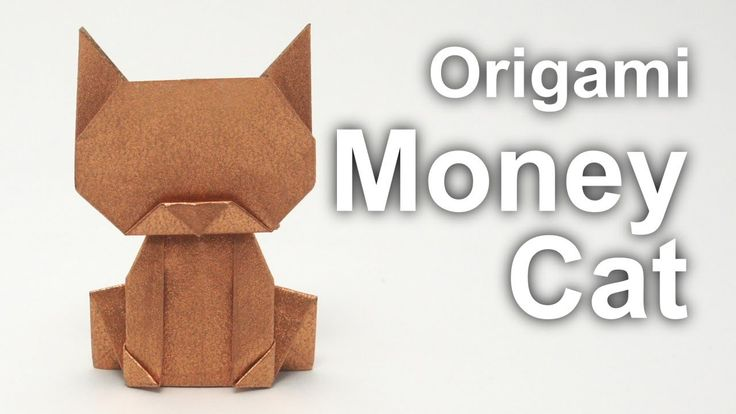 How to make an origami Money Cat (v2) Difficulty level: low intermediate Designed by Jo Nakashima (11/06/2013) See also the first version of the Money Cat: h...