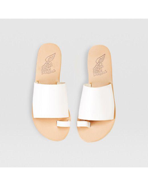 Ancient Greek Sandals   Ligia Sandal - White   Lyst