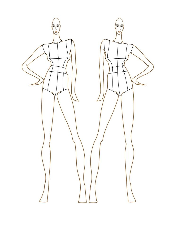 Fashion Figure Templates - Italian Fashion School | # ...
