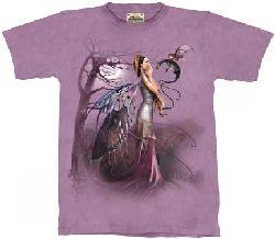 DRAGON WHISPER Fantasy Fairy Faery T-Shirt from The Mountain