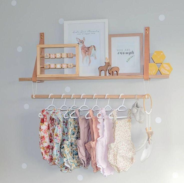 Какая превосходная идея для декора стен!😍 Заодно вы сможете красиво развесить первый гардероб вашего малыша😇  __________________________________________________ Фото @andie.and.ollie #интерьер_royaldream  #royaldream #вседлясна #детскаяпостель #детскийсон #постелька #babybedding #nurserydecor #nursey #babyshop #babyshower #kidsdecor #babyboy #babygirl #kidsinterior #newborn #kidsmood #kidsroom #kidstagram #kids #instagram_kids #instakids #instamama #interiordecor #interiordecorating…