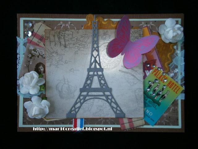Paris card / Parijs kaart