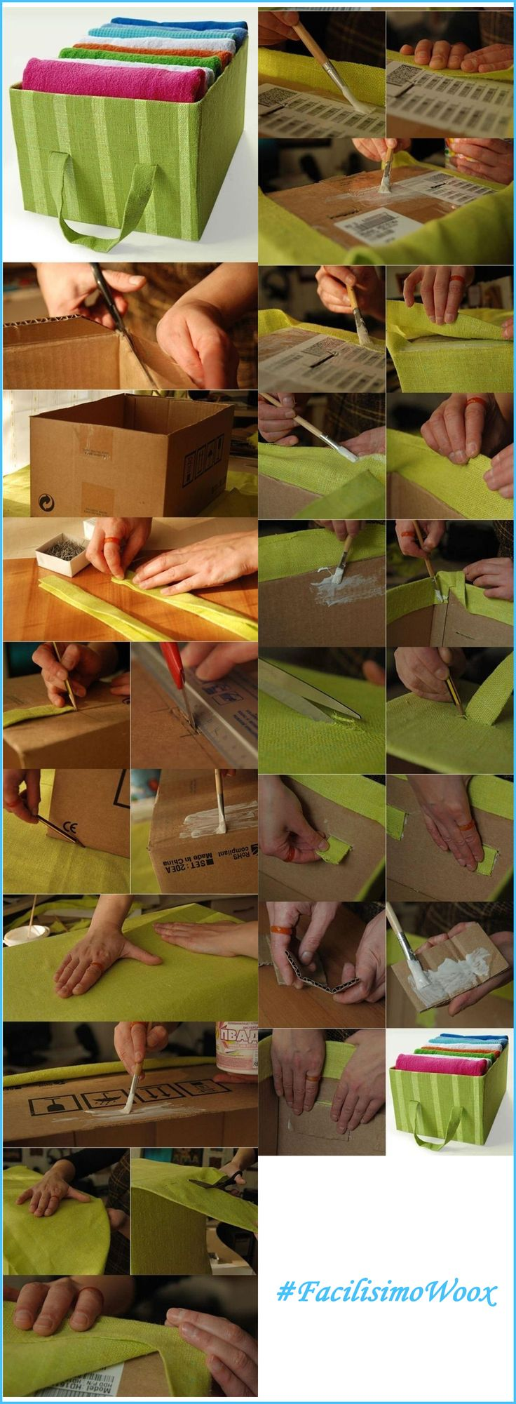 Otra idea para crear algo nuevo mediante el reciclaje de materiales.   #FacilisimoconWoox | #DIY | #Reciclaje