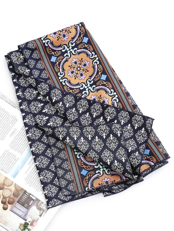 Shop Leaf Print Satin Bandana online. SheIn offers Leaf Print Satin Bandana & more to fit your fashionable needs.