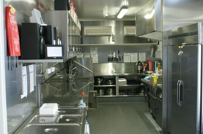 Commercial Container Kitchen