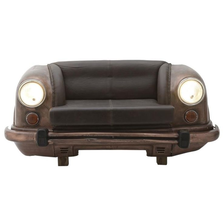 Fabric 2 Seater Sofa - Couches - Daybeds - FURNITURE - inart