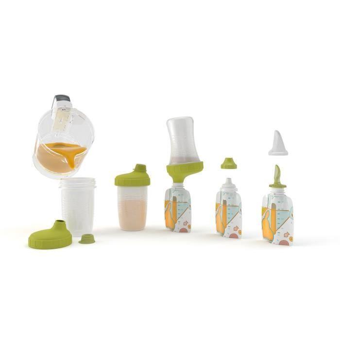 Babymoov Starter Kit Foodii Avec Gourdes Reutilisables Bebe Et