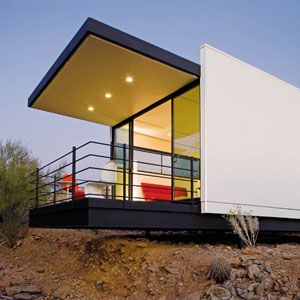 161 best funky houses eco homes images on pinterest for Frank lloyd wright modular homes