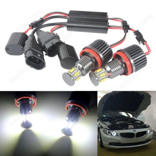 H8 120w #angel eyes cree led #marker halo light #bulbs bmw e90 e92 e60 e61 x5 x6 ,  View more on the LINK: 	http://www.zeppy.io/product/gb/2/131998031873/