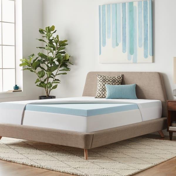 Overstock Com Online Shopping Bedding Furniture Electronics Jewelry Clothing More Memory Foam Mattress Topper Gel Memory Foam Mattress Memory Foam Mattress Pad