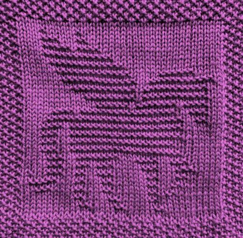 This Free Afghan Knitting Pattern Includes Three Block Designs To