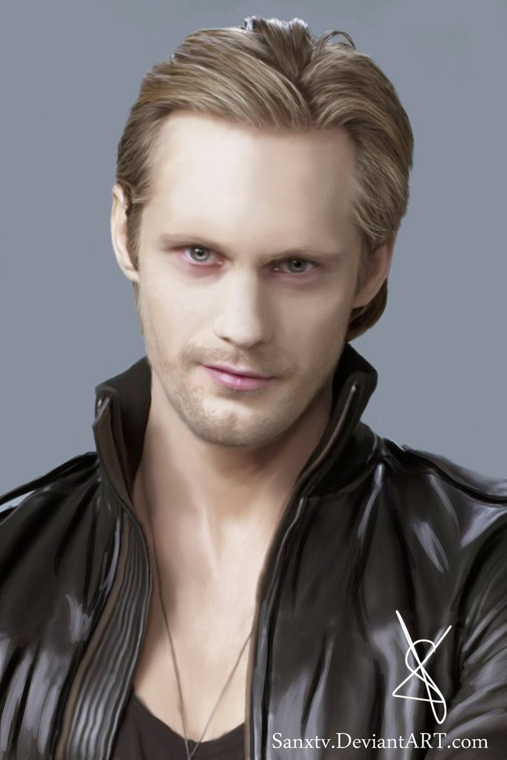 "Alexander Skarsgard play's vampire Eric Northman in ""True Blood""."