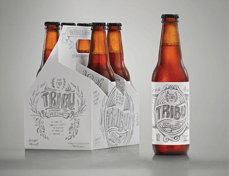 Tribu Sketch Beer on Packaging of the World - Creative Package Design Gallery