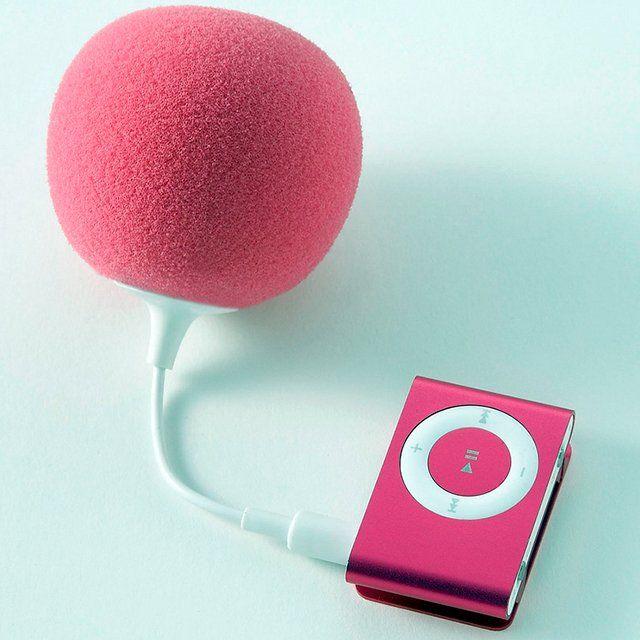 music balloon speaker! external speaker that looks cute. haha