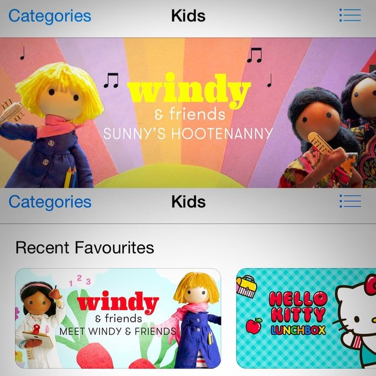 """Windy & friends — featured as best apps for kids on iTunes including our new *FREE* app """"Meet Windy & friends"""""""