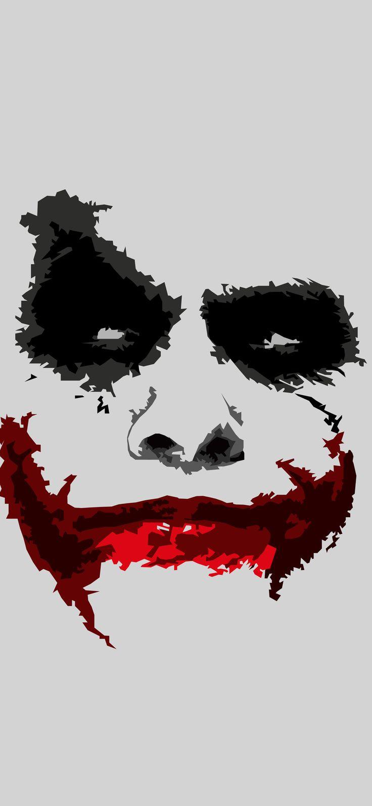 Joker 8k Minimalism Iphone X Joker iphone wallpaper