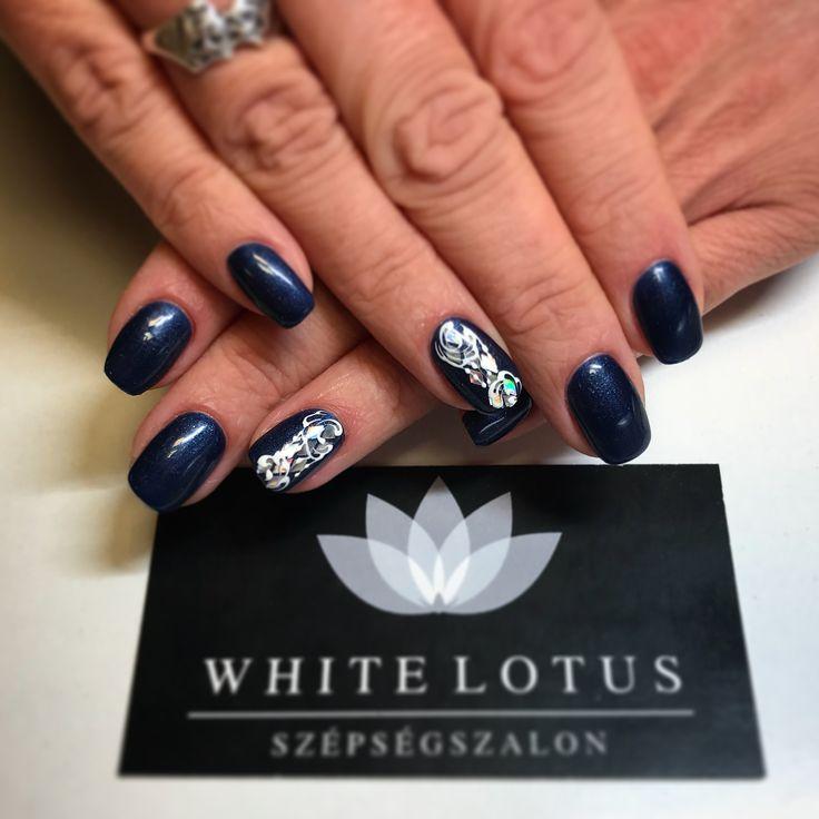 Blueblueblue nails 💙🔹🔷🔹💙  ➡️Instagram : anett.volcz