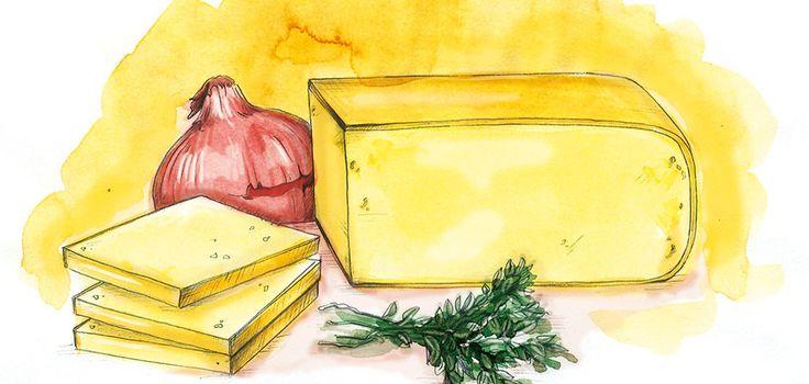 Illustration Raclette-Käse