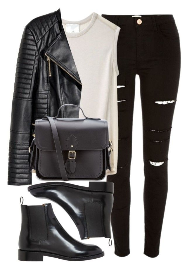 Style #11669 by vany-alvarado on Polyvore featuring polyvore, fashion, style, 3.1 Phillip Lim, H&M, River Island, Yves Saint Laurent, The Cambridge Satchel Company and clothing
