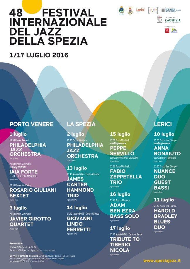 Festival Internazionale del Jazz della Spezia - Liguria, Italia - Calendario Concerti / Eventi 2016