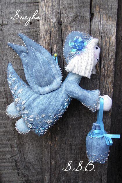 Blue angel, handmade. Avtorskaya Igrushka.