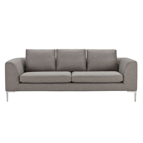Hilton 3 Seat Sofa Esquire Pewter