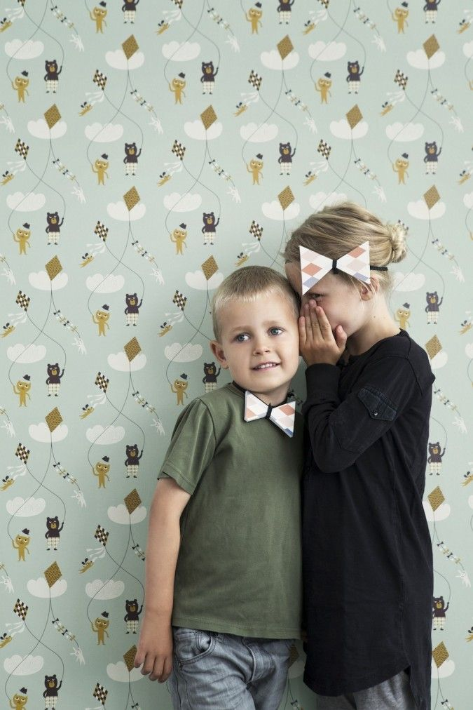 FERM Living MORE Kids Collection AW13 Fun Wallpaper preslatka sika, za neki crtez nekad