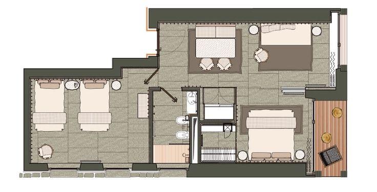 EDEN HOTEL Family Suite